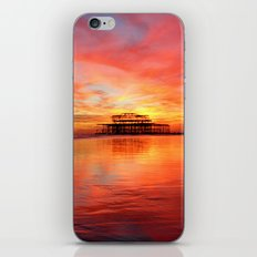 Fire in the Sky iPhone & iPod Skin