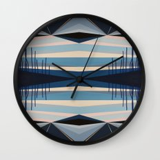 Highwayscape1 Wall Clock