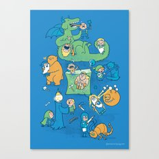 Total Party Kill Canvas Print