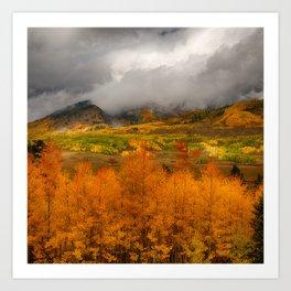 Colorado Fall Colors Art Print