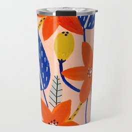 Birthday Flowers Travel Mug