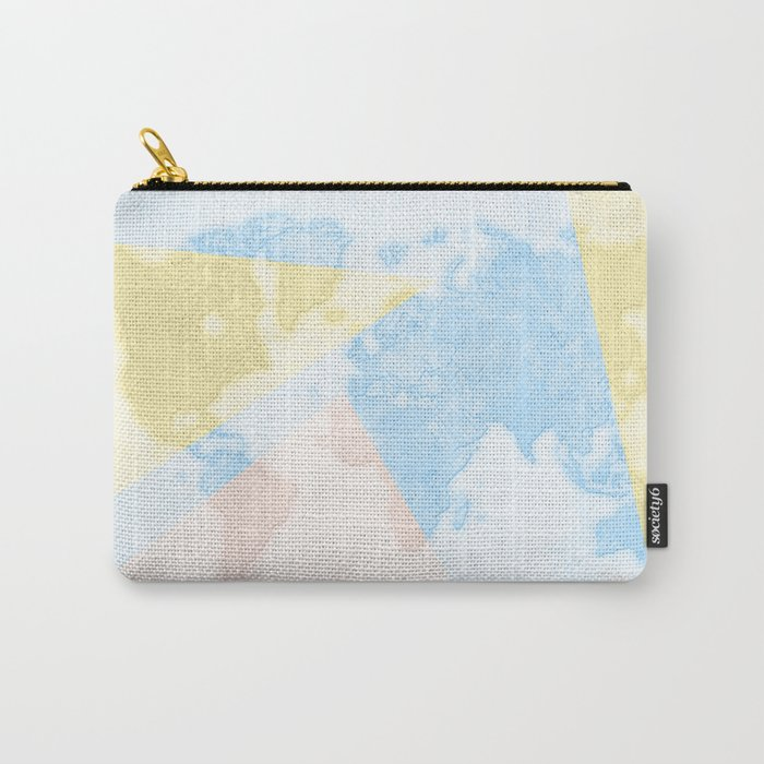 World Map Light Carry-All Pouch