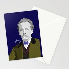RICHARD STRAUSS (SAPPHIRE BACKGROUND) Stationery Cards