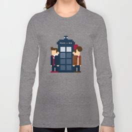 Doctor Who 10th & 11th Long Sleeve T-shirt