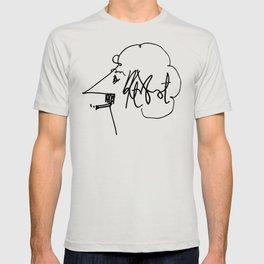 Vonnegut Self Portrait Artwork, Design for Wall Art, Prints, Posters, Tshirts, Bags, Women, Men, Kid T-shirt