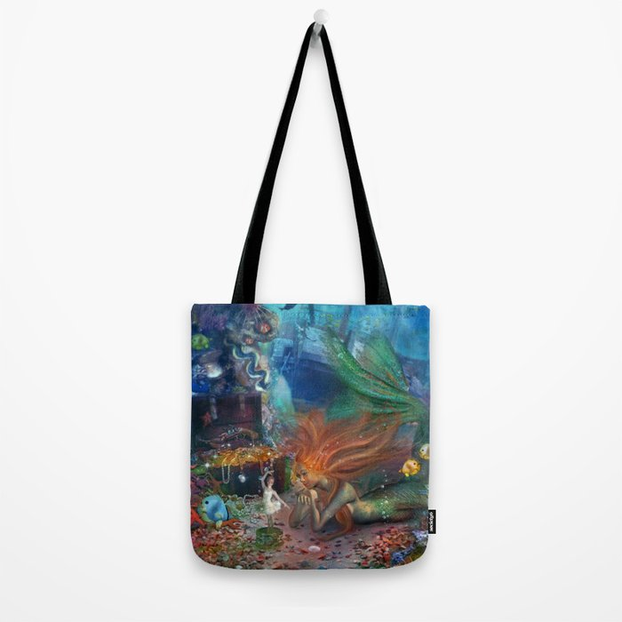 The Mermaid's Treasure Tote Bag