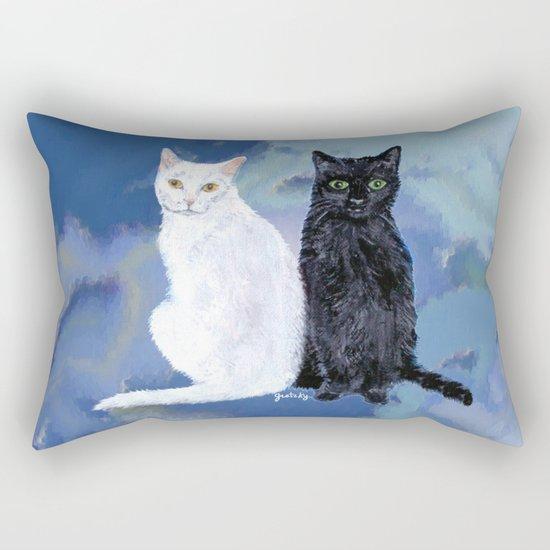 Kingston and Midnight Rectangular Pillow