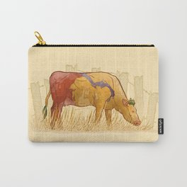 Ode to Heffer Carry-All Pouch
