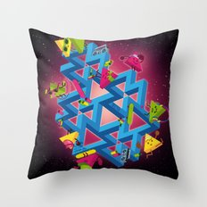 The impossible playground Throw Pillow