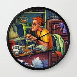 80's Computer Geek Wall Clock