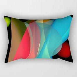 bicubic waves -5- Rectangular Pillow