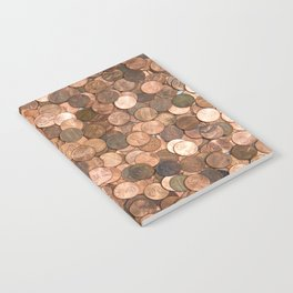 Pennies for your thoughts Notebook
