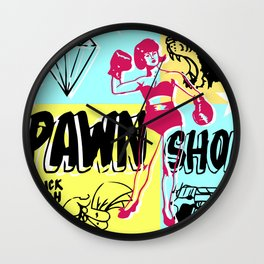 Pawn Shop Wall Clock