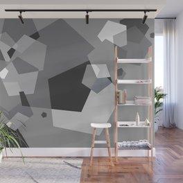 Grayish - Abstract #society6 #decor #buyart Wall Mural