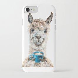 Llama Latte iPhone Case