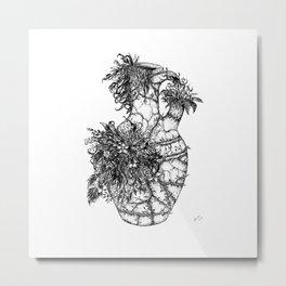 Natural detailing 11, Vase Metal Print