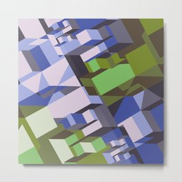 Luisse Pattern Metal Print