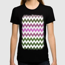 Pink Roses in Anzures 1 Chevron 1T T-shirt
