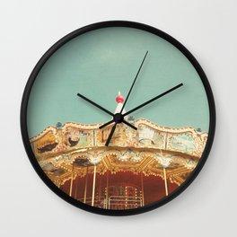 Carousel Lights Wall Clock