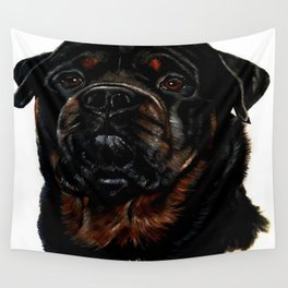 Male Rottweiler Wall Tapestry