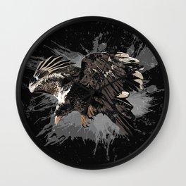 Stylized Eagle Wall Clock
