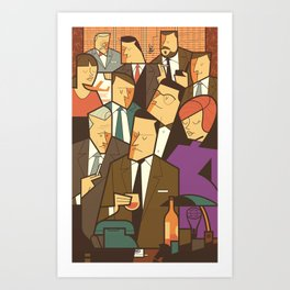 Madison Avenue Art Print