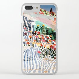 Salvation Mountain Clear iPhone Case