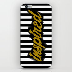 Inspired iPhone & iPod Skin