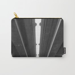 'Under the Freeway' Abstract Urban Photographic Print Carry-All Pouch