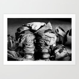 The Cadets Art Print