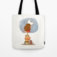 Nothing is out of reach Tote Bag