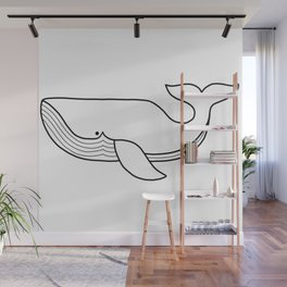 Whale of a good time Wall Mural