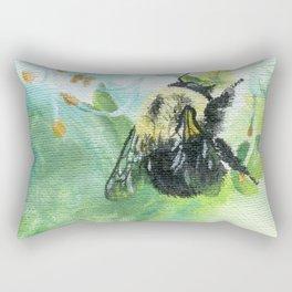 Synchronicity by Teresa Thompson Rectangular Pillow