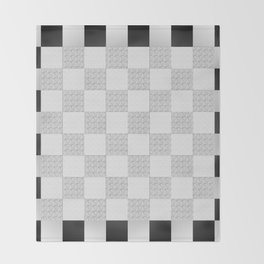 Chess Pad Throw Blanket