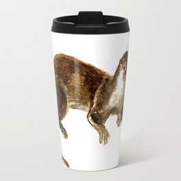 Totem otter: Amblonyx cinerea Travel Mug