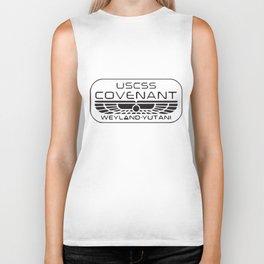 Alien Covenant Inspired Geek T-Shirts Biker Tank