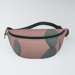 Greens on coral -  Terracotta botanical photography Fanny Pack