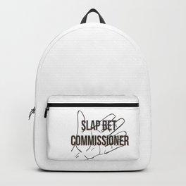 Slap bet commissioner Backpack