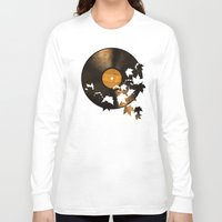 autumn Long Sleeve T-shirts featuring Autumn Song  by Terry Fan