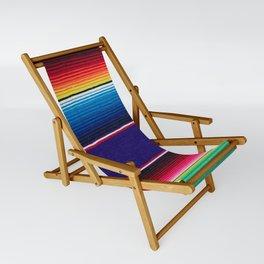 Serape of Mexico Sling Chair
