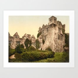 Vintage Photo-Print of Donegal Castle (1900) Art Print