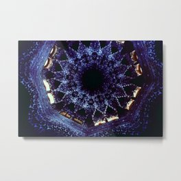 Looking Up Stalactite Dome, Alhambra Metal Print