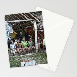 South Pacific Children Stationery Cards