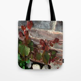 Red Ivy Tote Bag