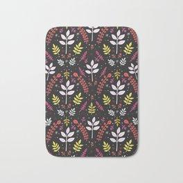floral no. 1 Bath Mat