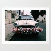 cuba Art Prints featuring cuba by Love Improchori