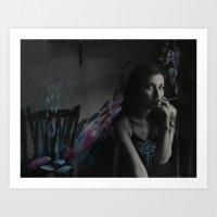 intervention 10 Art Print