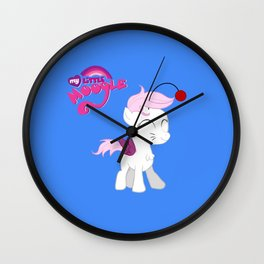 My Little Moogle Wall Clock