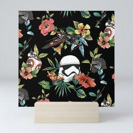 """The Floral Awakens"" by Josh Ln Mini Art Print"