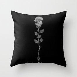 Deadly Love Throw Pillow